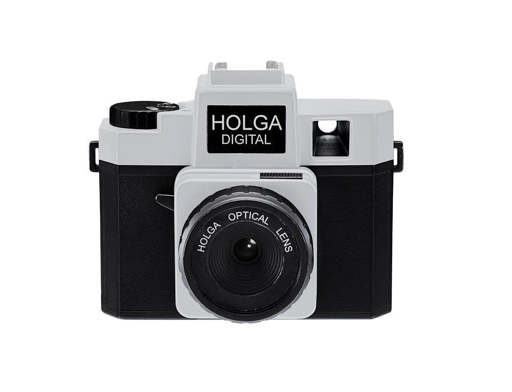 Holga Digital Camera - Black/Silver